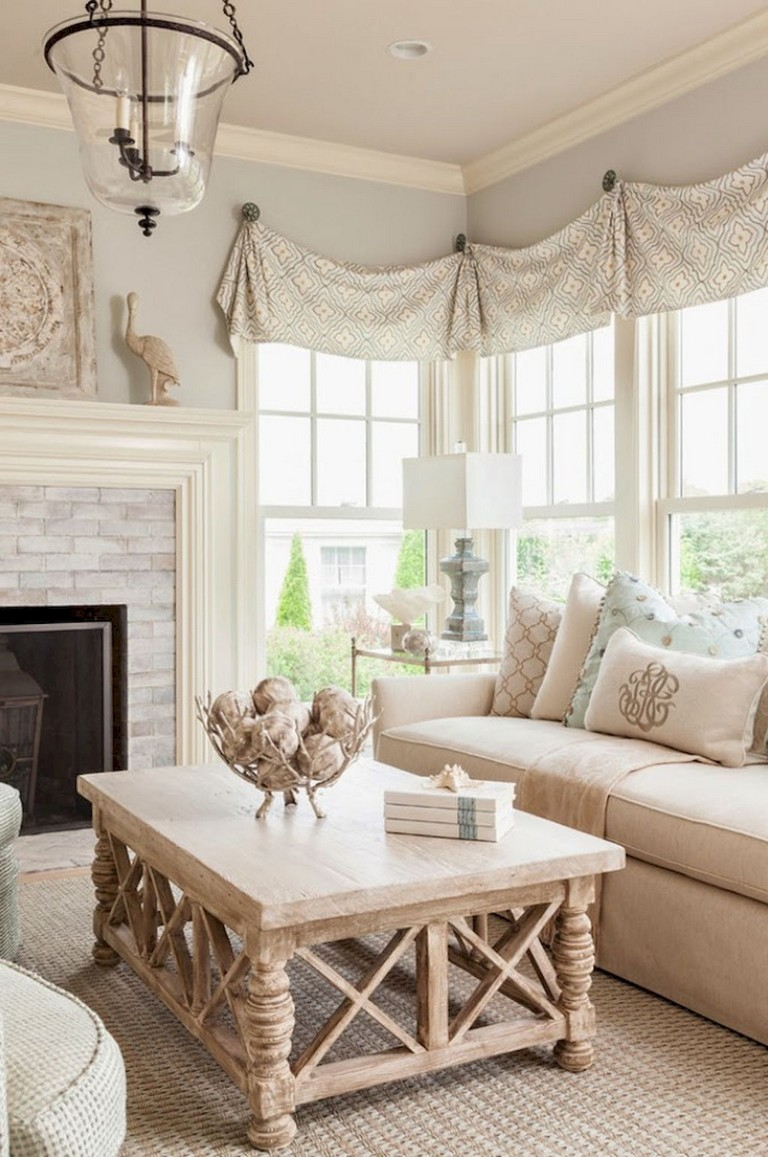 52 comfy french country living room design ideas  page