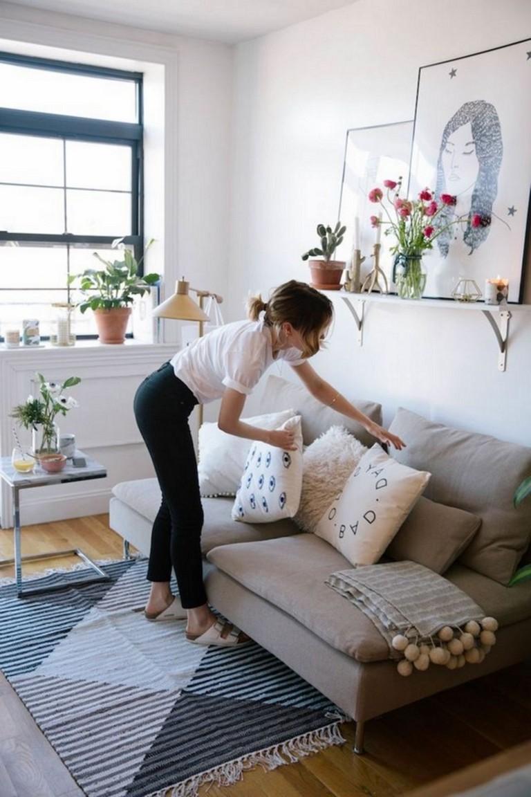 94+ Stunning Minimalist Living Room Decorations Ideas