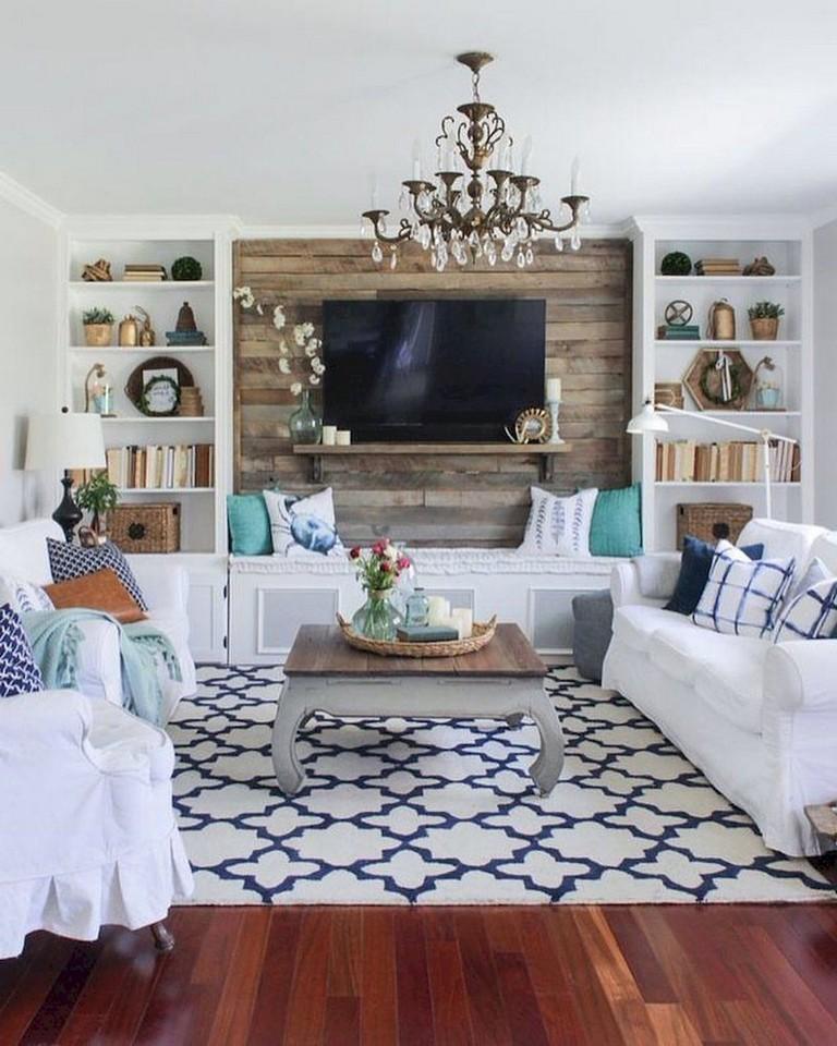 47 Top Rustic Apartment Living Room Decor Ideas