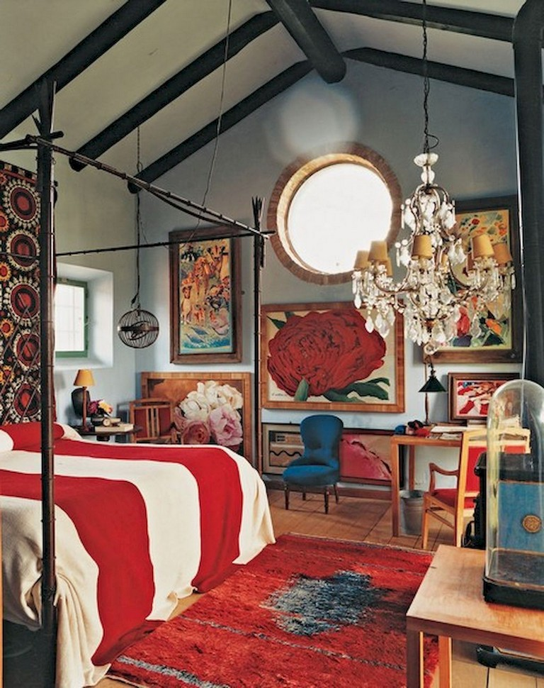 55+ Comfy Eclectic Master Bedroom Decor Ideas and Remodel - Page 2 on eclectic bedroom furniture, eclectic kitchen decorating ideas, eclectic backyard decorating ideas, superhero boys bedroom decorating ideas, eclectic master bathroom, eclectic teen bedroom, eclectic interior decorating ideas, eclectic den decorating ideas,