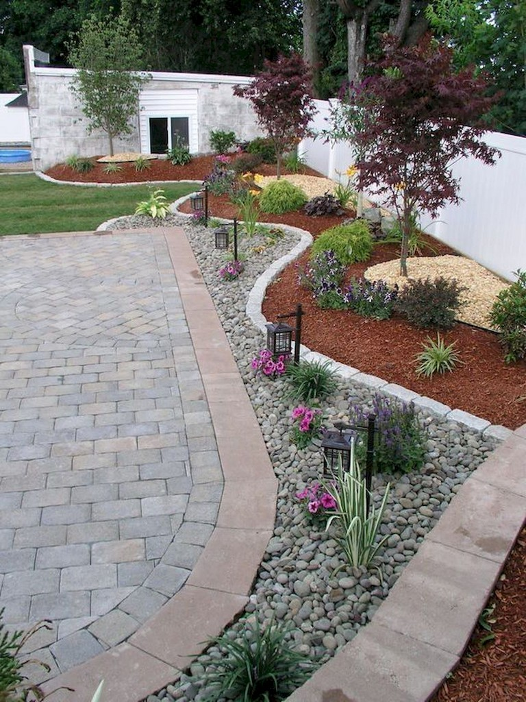 63+ Lovely Modern Front Yard Landscaping Ideas - Page 7 of 65