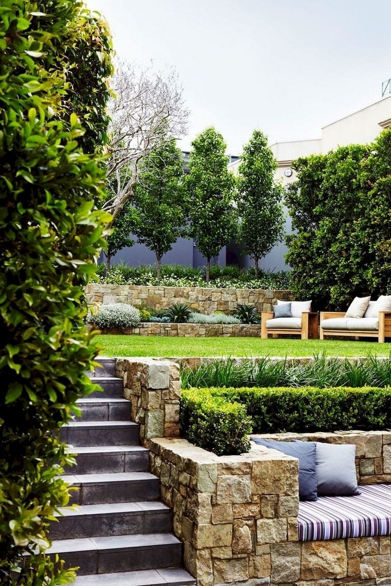 63+ Lovely Modern Front Yard Landscaping Ideas - Page 9 of 65