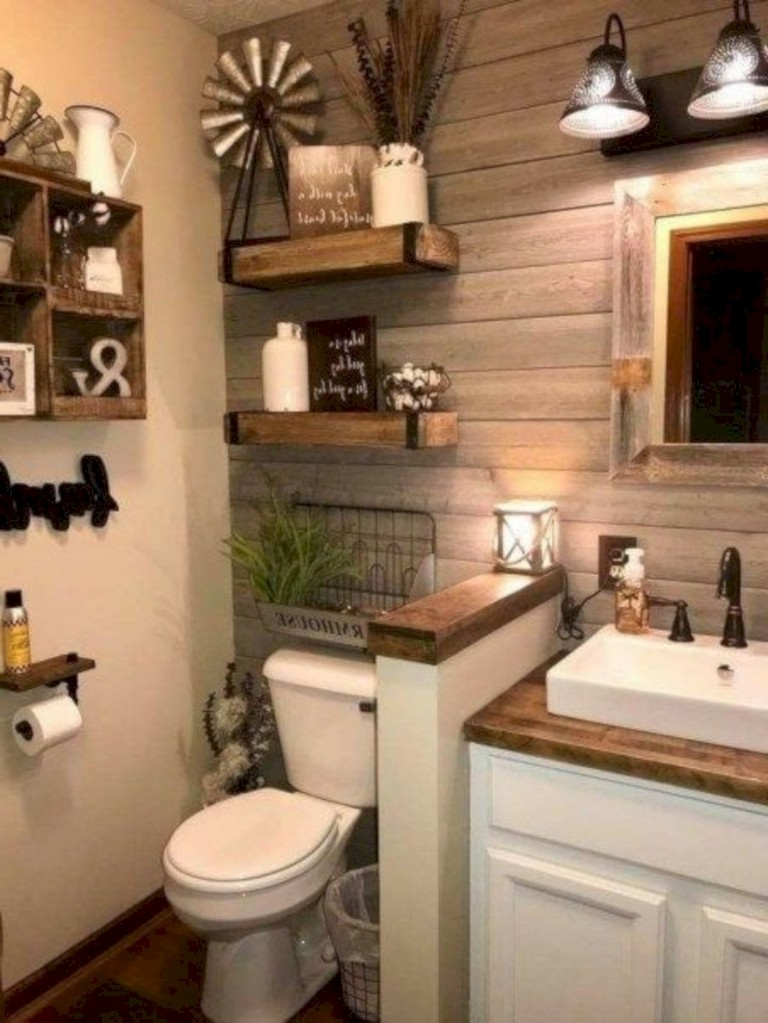 40 awesome modern rustic bathroom ideas  page 4 of 42