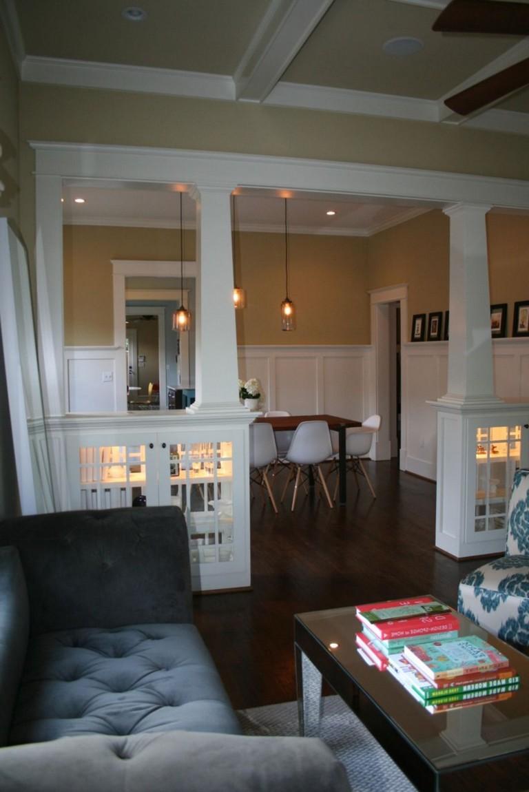 fascinating half idea wall kitchen design | 58+ AWESOME HALF WALL KITCHEN DESIGNS IDEAS - Page 12 of 59