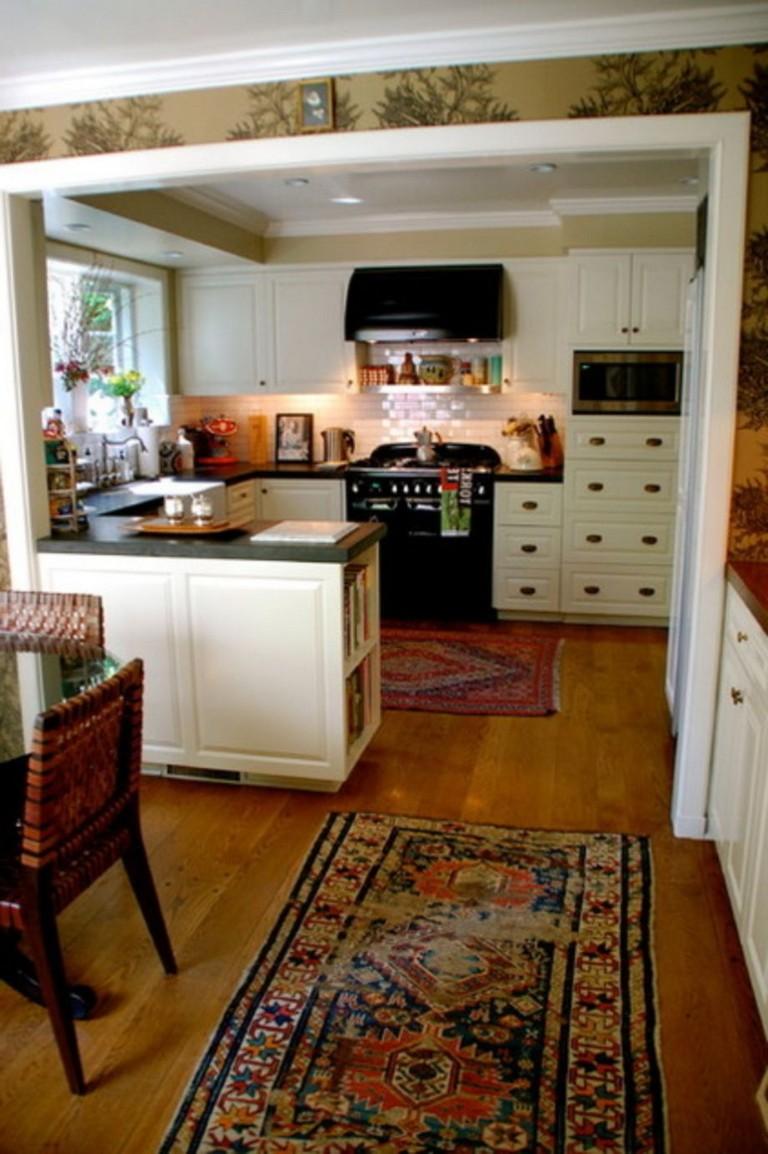 fascinating half idea wall kitchen design | 58+ AWESOME HALF WALL KITCHEN DESIGNS IDEAS - Page 14 of 59