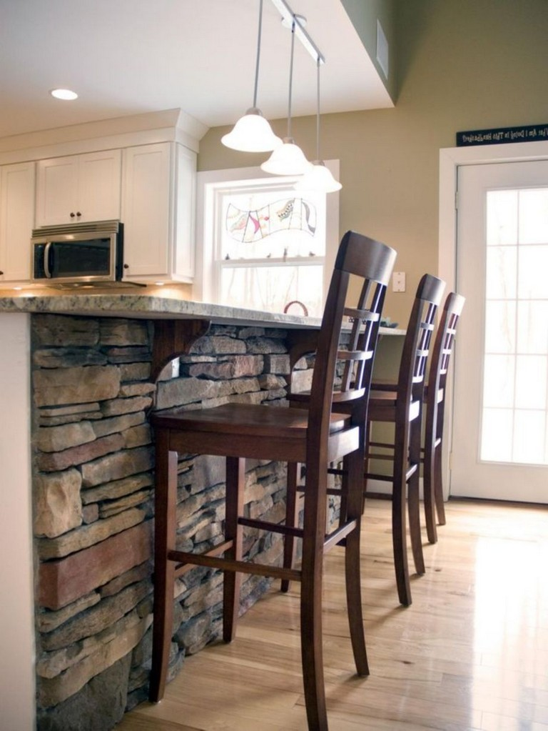 fascinating half idea wall kitchen design | 58+ AWESOME HALF WALL KITCHEN DESIGNS IDEAS - Page 18 of 59