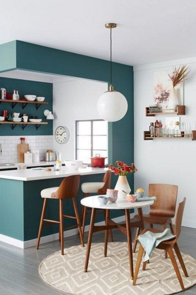 fascinating half idea wall kitchen design | 58+ AWESOME HALF WALL KITCHEN DESIGNS IDEAS - Page 19 of 59