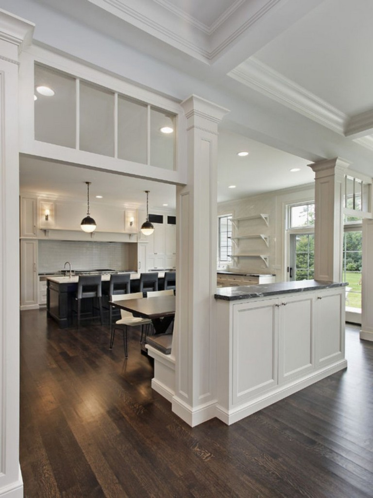 58+ AWESOME HALF WALL KITCHEN DESIGNS IDEAS - Page 26 of 59