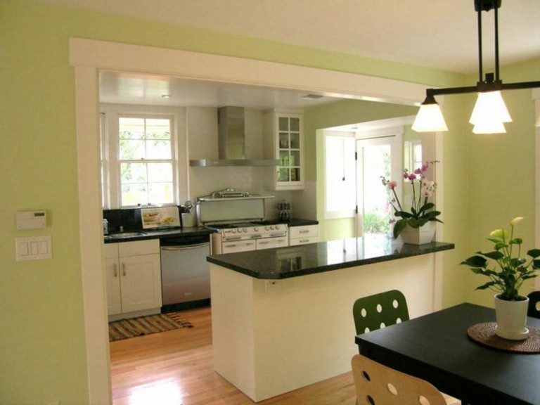 58 Awesome Half Wall Kitchen Designs Ideas
